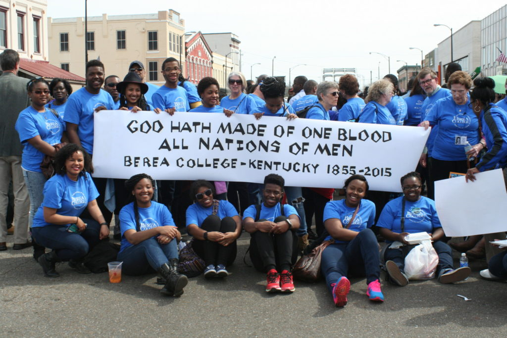 Students from Berea in Selma in 2015